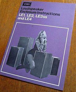 EMI Loudspeaker Type LE4|カタログ