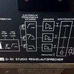 Neumann(KLEIN+HUMMEL) O 92 スタジオモニタースピーカーシステム|ダイアグラム