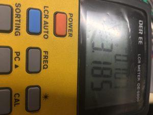 英EMI 92390PF(15Ω) 同軸ユニット オーバーホール前